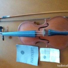 Instrumentos musicales: VIOLIN RUSO COMPRADO EN 1987 EN MOSCÚ CON SU MANUAL Y FACTURA RUSA. Lote 165859506