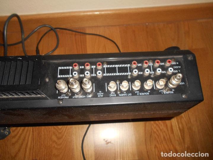Instrumentos musicales: System Video Mixer DVM 1000 MIXER BLAUPUNKT DVM-1000 Mezcladora de Vídeo. - Foto 10 - 166144098
