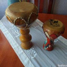Instrumentos musicales: TIMBALES DECORATIVOS ( 2 UNIDADES ). Lote 166719998