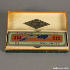 Instrumentos musicales: RARO!! ANTIGUA ARMONICA HOHNER ECHO LUXE CON SU CAJA ORIGINAL. ALEMANIA 1930 - 1935. Lote 166811094