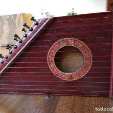 Instrumentos musicales: CITARA O SIMARRA DE 15 CUERDAS - CREO QUE ES DE MONTELEON. Lote 166831090