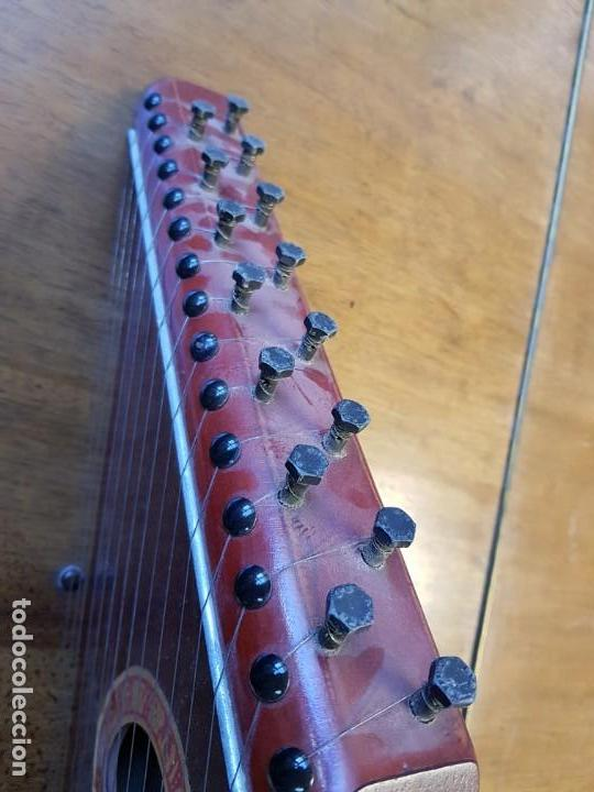 Instrumentos musicales: Citara o simarra de 15 cuerdas - Creo que es de MONTELEON - Foto 2 - 166831090