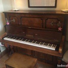 Instrumentos Musicais: PIANO VERTICAL DE MADERA EN EXCELENTE ESTADO. Lote 167463452