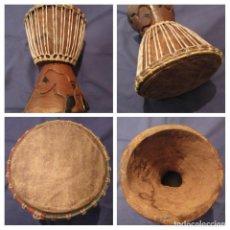 Instrumentos musicales: DJEMBE (SENEGAL). . Lote 167596732