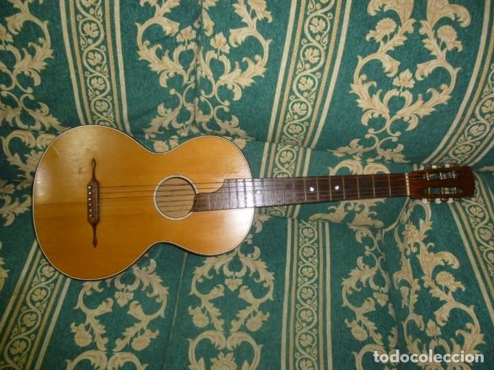 GUITARRA ALEMANA DE SALÓN ZETCO (Música - Instrumentos Musicales - Guitarras Antiguas)
