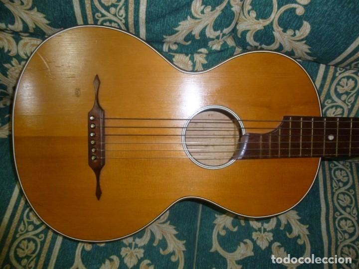 Instrumentos musicales: Guitarra alemana de salón Zetco - Foto 2 - 167846328