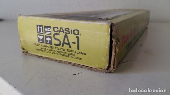 Instrumentos musicales: CASIO SA-1 TONE BANK KEYBOARD 100 SOUND TECLADO ELECTRONICO CON CAJA ORIGINAL Y FUNCIONANDO - Foto 5 - 167877800