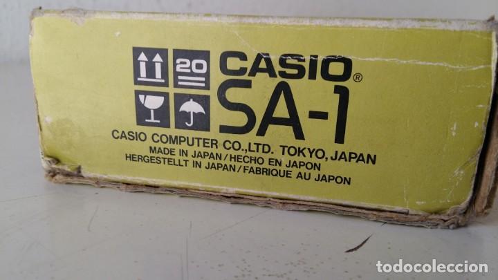 Instrumentos musicales: CASIO SA-1 TONE BANK KEYBOARD 100 SOUND TECLADO ELECTRONICO CON CAJA ORIGINAL Y FUNCIONANDO - Foto 6 - 167877800