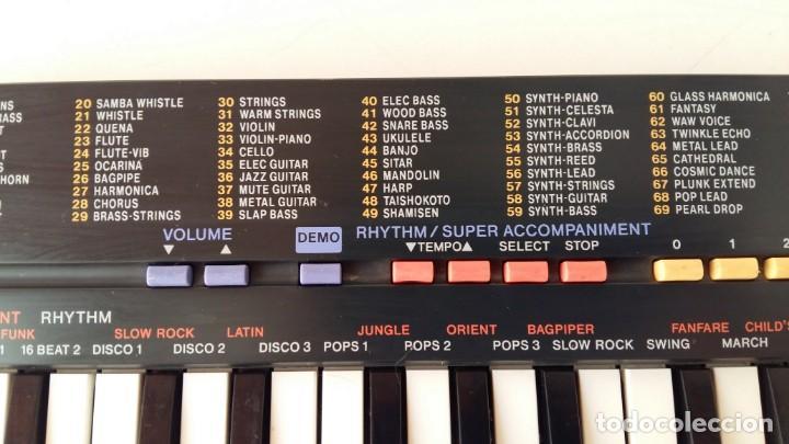 Instrumentos musicales: CASIO SA-1 TONE BANK KEYBOARD 100 SOUND TECLADO ELECTRONICO CON CAJA ORIGINAL Y FUNCIONANDO - Foto 16 - 167877800