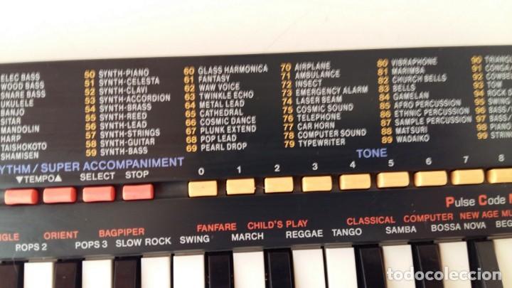 Instrumentos musicales: CASIO SA-1 TONE BANK KEYBOARD 100 SOUND TECLADO ELECTRONICO CON CAJA ORIGINAL Y FUNCIONANDO - Foto 17 - 167877800