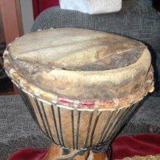 Instrumentos musicales: TAMBOR AFRICANO. Lote 167896228