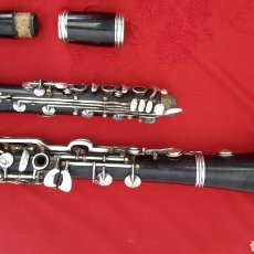 Instrumentos musicales: CLARINETE ALEMÁN CLEMENS MEINEL WERNITZGRÚN. Lote 168096849