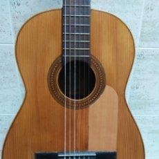 Instrumentos musicales: GUITARRA ANTIGUA FLAMENCA RICARDO SANCHÍS.. Lote 168235657