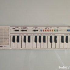 Instrumentos musicales: ÓRGANO TECLADO CASIO PT-1 BLANCO ORIGINAL AÑOS 80-90. FUNCIONA. Lote 168323193