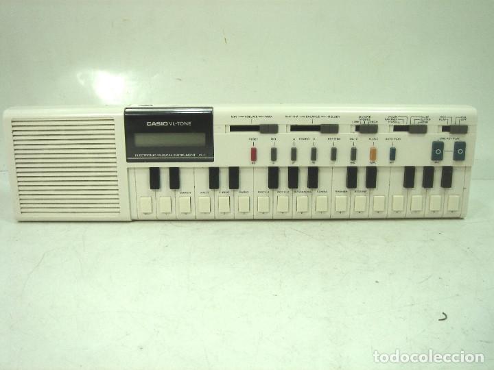 Instrumentos musicales: TECLADO ELECTRONICO -CASIO VL-1-TONE - JAPAN 80s - ¡¡¡FUNCIONANDO ¡¡¡ VL1 ORGANO PIANO I - Foto 2 - 168451132