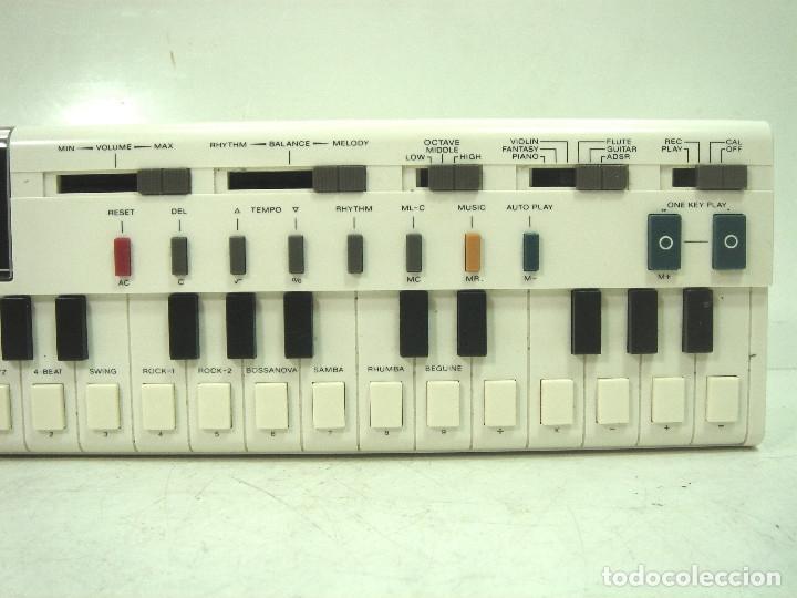 Instrumentos musicales: TECLADO ELECTRONICO -CASIO VL-1-TONE - JAPAN 80s - ¡¡¡FUNCIONANDO ¡¡¡ VL1 ORGANO PIANO I - Foto 4 - 168451132