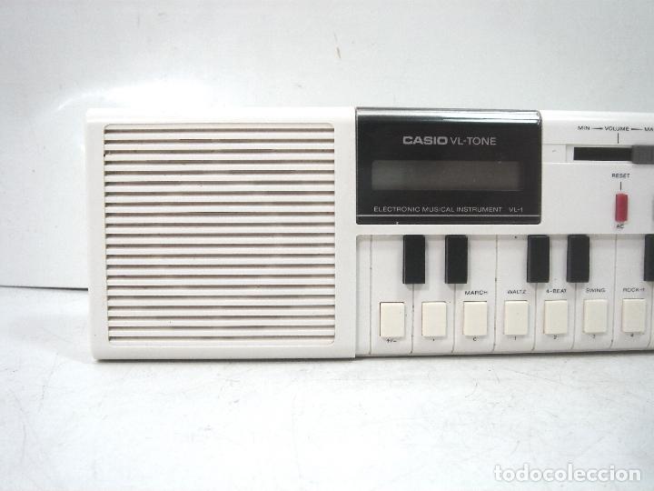 TECLADO ELECTRONICO -CASIO VL-1-TONE - JAPAN 80S - ¡¡¡FUNCIONANDO ¡¡¡ VL1 ORGANO PIANO I (Música - Instrumentos Musicales - Teclados Eléctricos y Digitales)