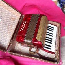Instrumentos musicales: ACORDEON ITALIANO 12 BAJOS MEDIANO BUENISIMO ESTADO. Lote 168965048