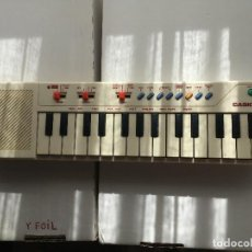 Instrumentos Musicais: ORGANO PIANO CASIO PT-10 PT10 PT 10 JAPAN BLANCO FUNCIONANDO TODO OK KREATEN. Lote 168994628