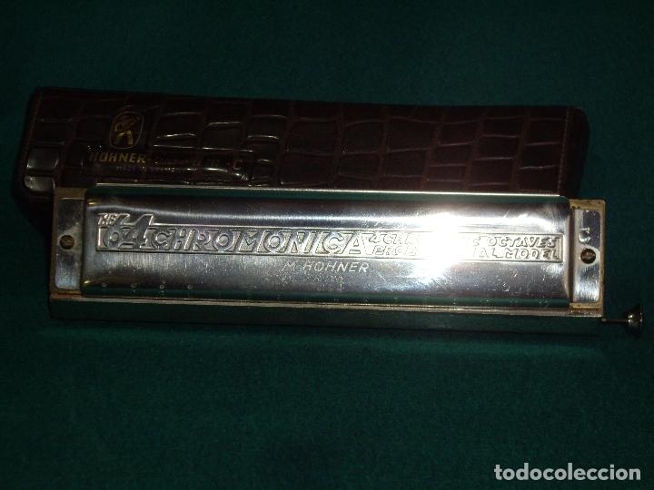 Instrumentos musicales: ARMOCINA - 64 CHROMONICA C - M. HOHNER - Foto 6 - 169063700