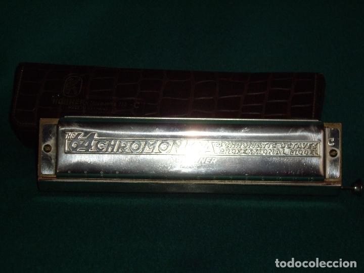 Instrumentos musicales: ARMOCINA - 64 CHROMONICA C - M. HOHNER - Foto 7 - 169063700