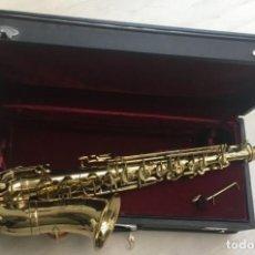 Instrumentos musicales: SAXOFÓN ALTO. MARCA COUESNON. AÑOS 90. CON MALETA ORIGINAL.. Lote 169197344