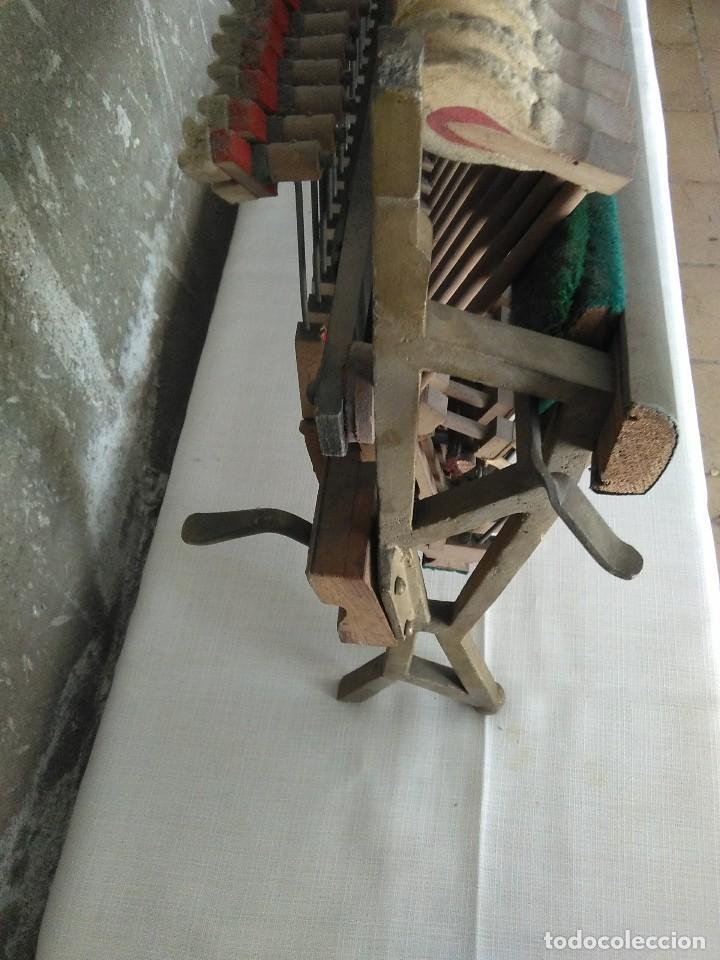 Instrumentos musicales: antiguo puente de piano louis renner stuttgart - Foto 10 - 169576680