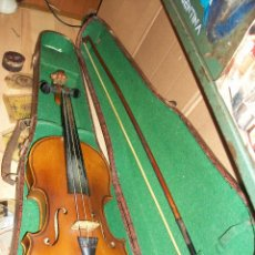 Instrumentos musicales: ANTIGUO VIOLIN ANTONIUS STRADIVARIUS-COPIA-MADE IN CHEKOSLOVAKIA. Lote 169585952