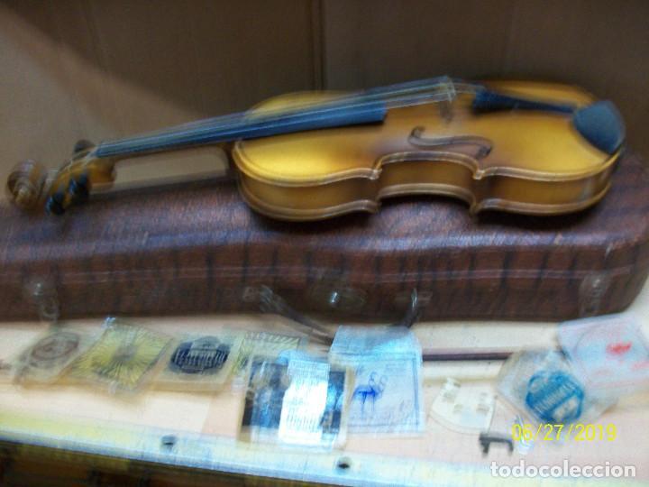 Instrumentos musicales: ANTIGUO VIOLIN ANTONIUS STRADIVARIUS-COPIA-MADE IN CHEKOSLOVAKIA - Foto 2 - 169585952