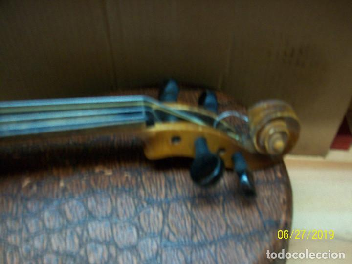 Instrumentos musicales: ANTIGUO VIOLIN ANTONIUS STRADIVARIUS-COPIA-MADE IN CHEKOSLOVAKIA - Foto 6 - 247296285