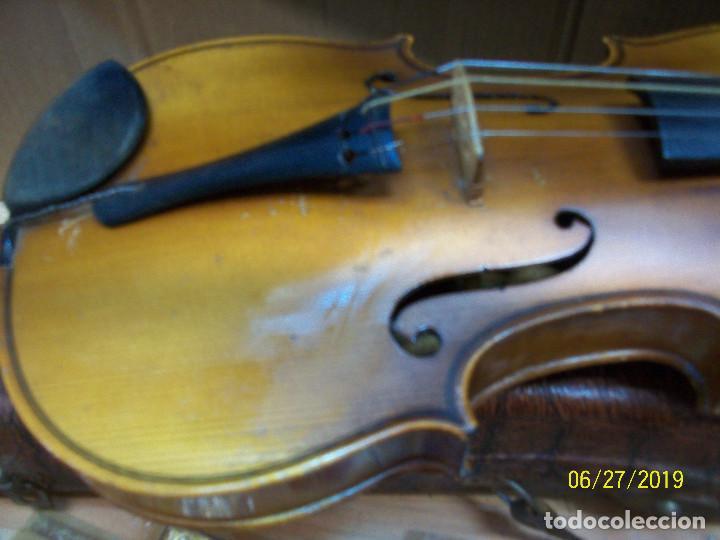 Instrumentos musicales: ANTIGUO VIOLIN ANTONIUS STRADIVARIUS-COPIA-MADE IN CHEKOSLOVAKIA - Foto 7 - 247296285