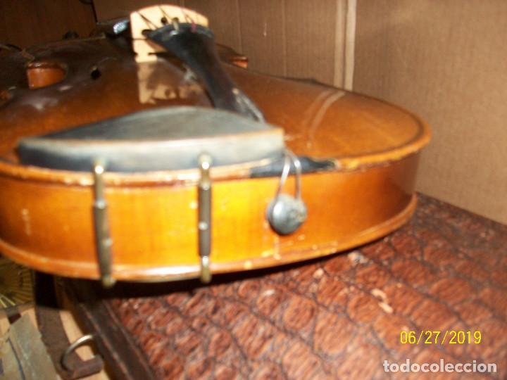 Instrumentos musicales: ANTIGUO VIOLIN ANTONIUS STRADIVARIUS-COPIA-MADE IN CHEKOSLOVAKIA - Foto 10 - 247296285