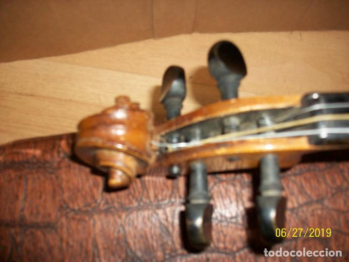 Instrumentos musicales: ANTIGUO VIOLIN ANTONIUS STRADIVARIUS-COPIA-MADE IN CHEKOSLOVAKIA - Foto 11 - 247296285