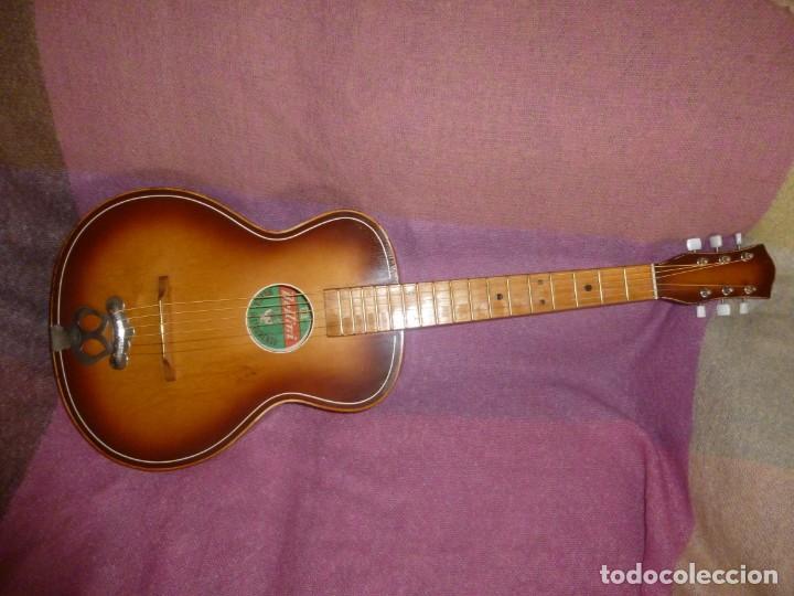 """Instrumentos musicales: Guitarra de sudáfrica """"zulú"""" Bellini de los 50 - Foto 3 - 169904052"""