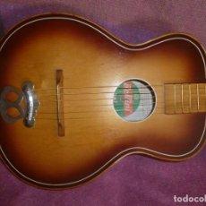 """Instrumentos musicales: GUITARRA DE SUDÁFRICA """"ZULÚ"""" BELLINI DE LOS 50. Lote 169904052"""