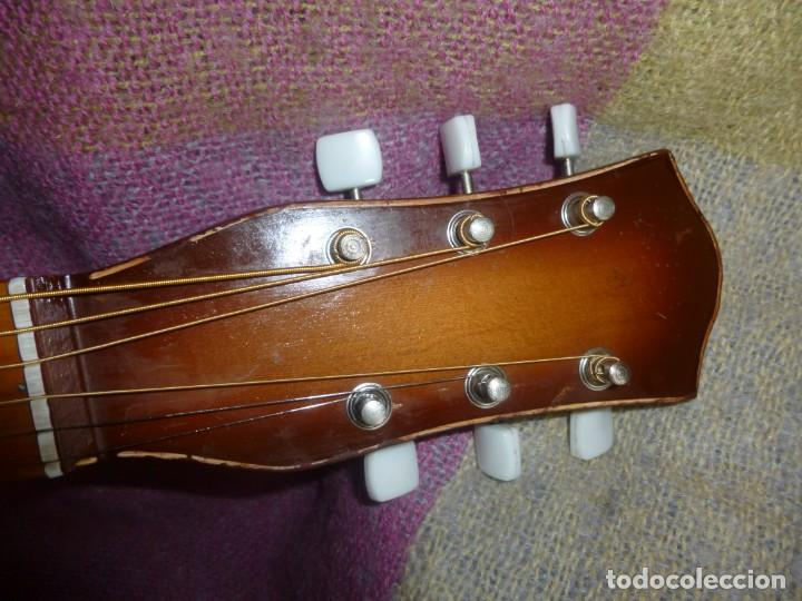 """Instrumentos musicales: Guitarra de sudáfrica """"zulú"""" Bellini de los 50 - Foto 5 - 169904052"""