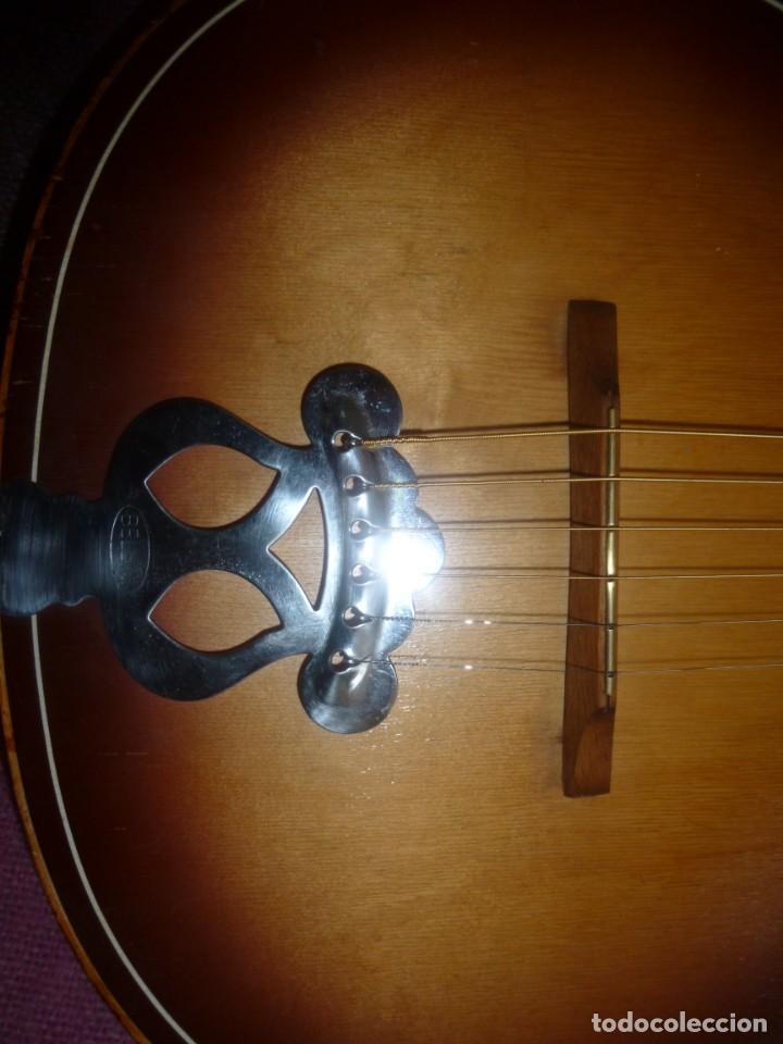 """Instrumentos musicales: Guitarra de sudáfrica """"zulú"""" Bellini de los 50 - Foto 6 - 169904052"""