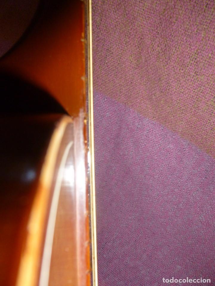 """Instrumentos musicales: Guitarra de sudáfrica """"zulú"""" Bellini de los 50 - Foto 10 - 169904052"""