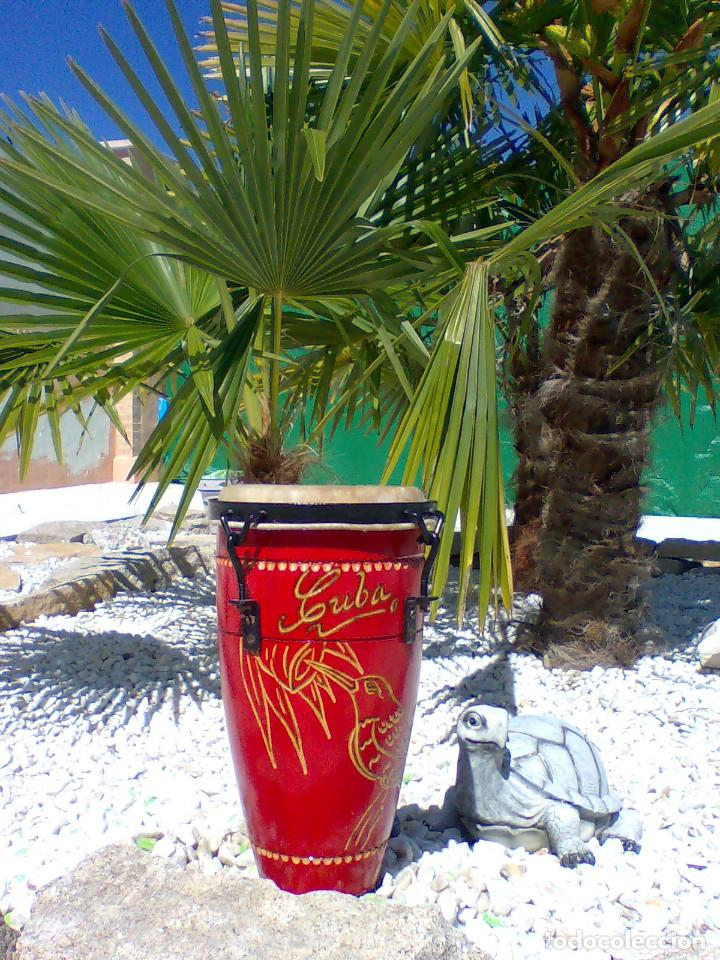 Instrumentos musicales: TIMBAL PROFESIONAL (PROCEDENCIA CUBA) - Foto 4 - 170035228