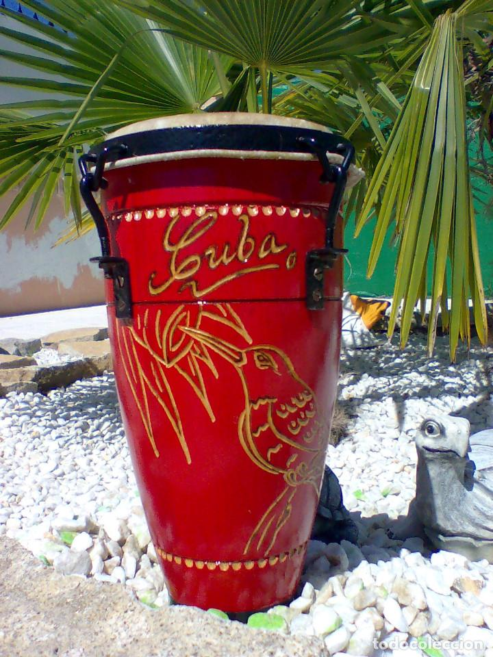 Instrumentos musicales: TIMBAL PROFESIONAL (PROCEDENCIA CUBA) - Foto 5 - 170035228