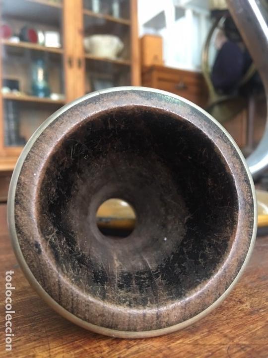 Instrumentos musicales: Antiguo Clarinete en madera con su estuche original. Finales S.XIX - Principios S.XX ébano y caoba - Foto 14 - 72327027