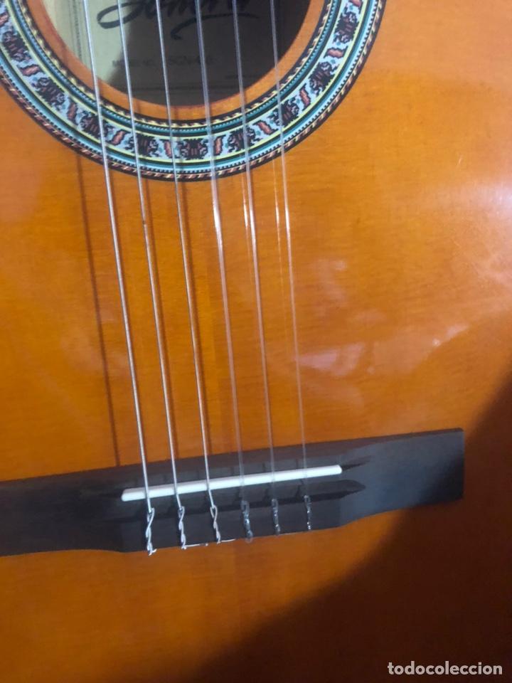 Instrumentos musicales: Antigua guitarra española sonora nueva en su funda original - Foto 11 - 170548089