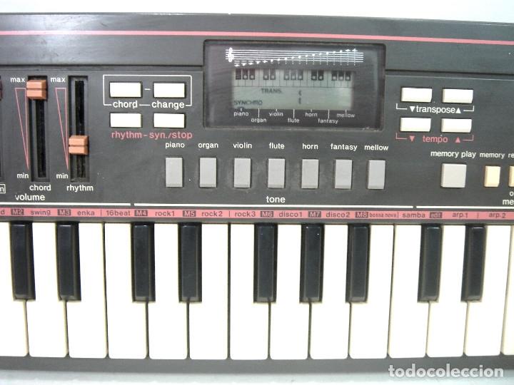 Instrumentos musicales: DIFICIL TECLADO ELECTRONICO - CASIO PT-31 ¡¡FUNCIONANDO¡¡ - JAPAN 80S -PT31 - PIANO ORGANO - Foto 4 - 170562100