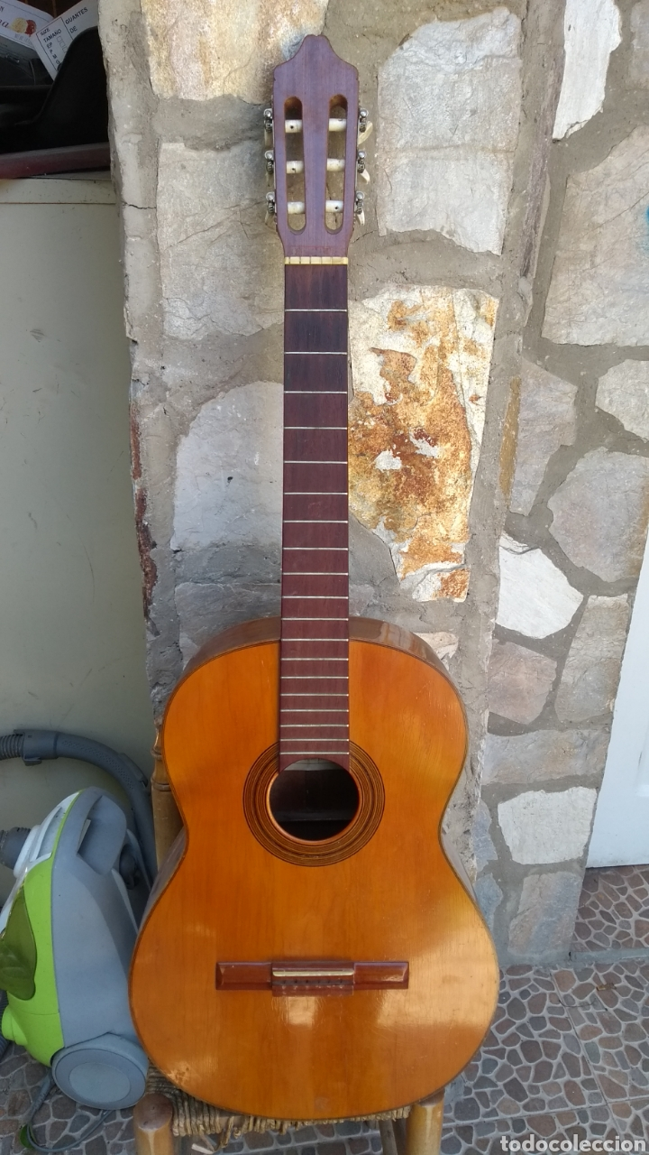 LEER ANTES DE COMPRAR/GABRIELA CASAS VIUDA DE VICENTE CARRILLO GUITARRA (Música - Instrumentos Musicales - Guitarras Antiguas)
