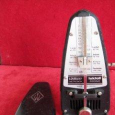 Instrumentos musicales: METRONOMO TAKTELL PICCOLO DE CUERDA EN BAQUELITA, MADE IN GERMANI, FUNCIONANDO. Lote 171025133