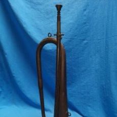 Instrumentos musicales: TROMPETA O CORNETA MILITAR, GARIJO Y RESPALDIZA MADRID , AÑOS 40. Lote 171399624