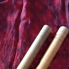 Instrumentos musicales: PALOS DE PERCUSIÓN. CLAVES DE CUBA. ORIGINAL.. Lote 171401248
