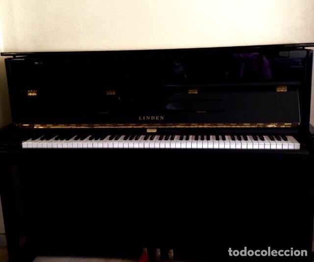 PIANO DE ÉBANO LINDEN BY KAWAI (Música - Instrumentos Musicales - Pianos Antiguos)