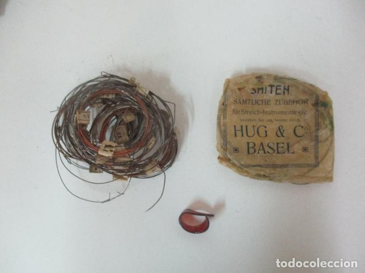 Instrumentos musicales: Antigua Citara - Madera Jacarandá, Latón y Hueso - Accesorios, Partituras y Caja - S. XIX - Foto 17 - 171480457
