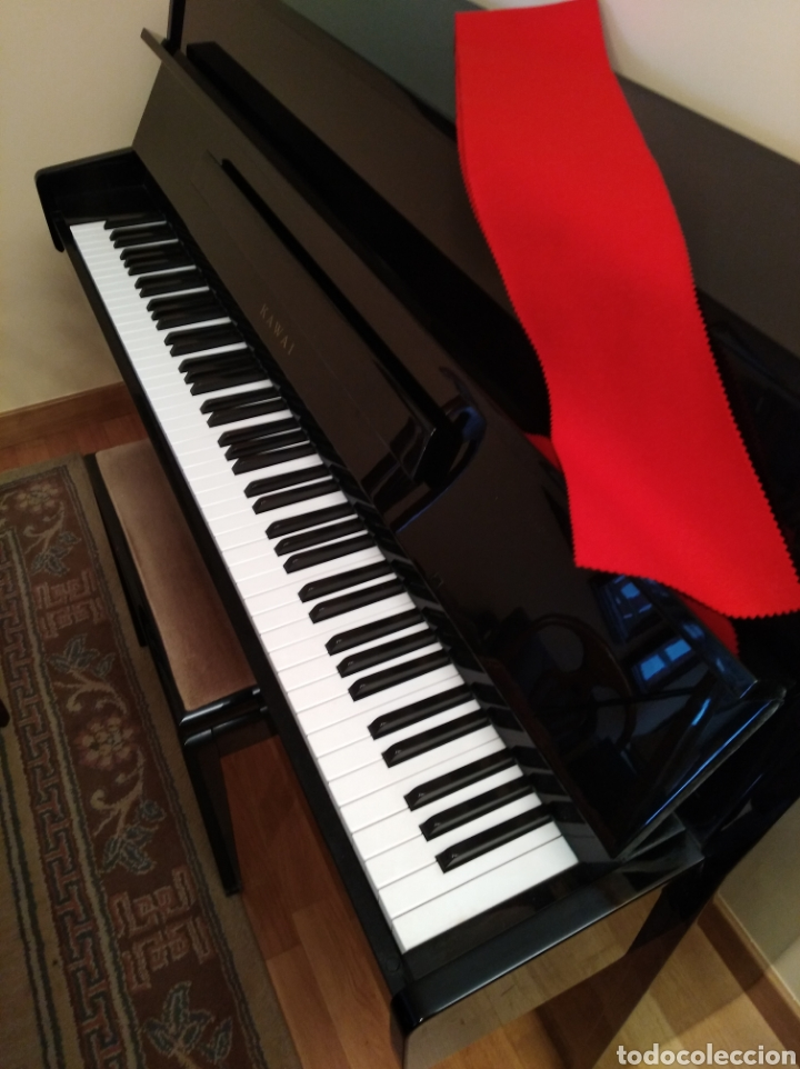 Instrumentos musicales: Piano de pared Kawai totalmente nuevo, solo a falta de afinación. - Foto 6 - 171583960